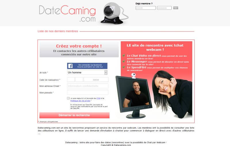 Datecaming.com - Avis 2017
