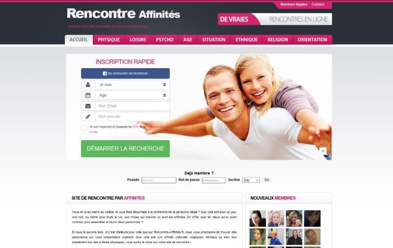 Rencontre-Affinites.fr - avis 2020