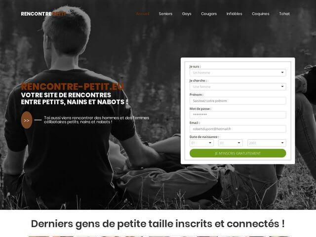 Rencontre-petit.eu : Site de rencontres entre petits